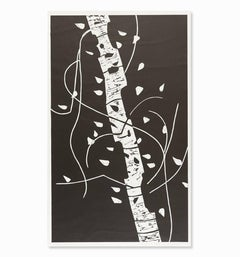 Alex Katz - Large Birch
