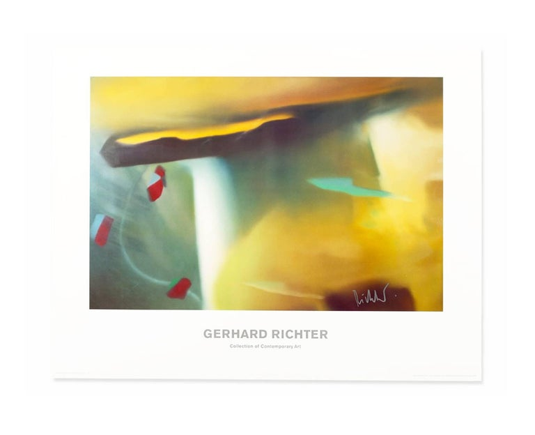 Gerhard Richter: Collection of Contemporary Art (poster)