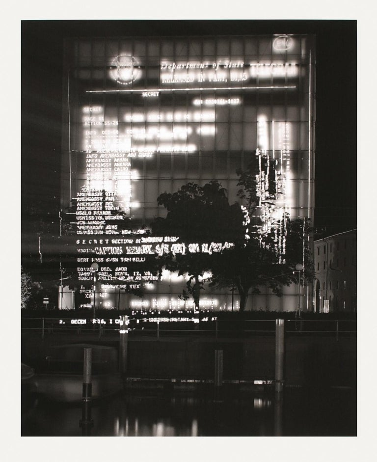 Jenny Holzer (American, b. 1950)  Truth Before Power, 2004  Medium: Suite of 4 digital pigment prints on photo rag paper  Dimensions: each 55.5 x 45 cm  Edition of 40: Hand signed and numbered on colophon  Condition: Mint
