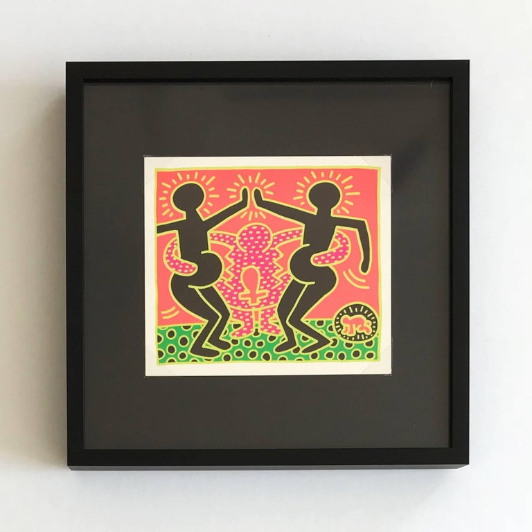 The Fertility Suite (Shafrazi Gallery Promotional Cards), Pop Art, Street Art - Print by (after) Keith Haring