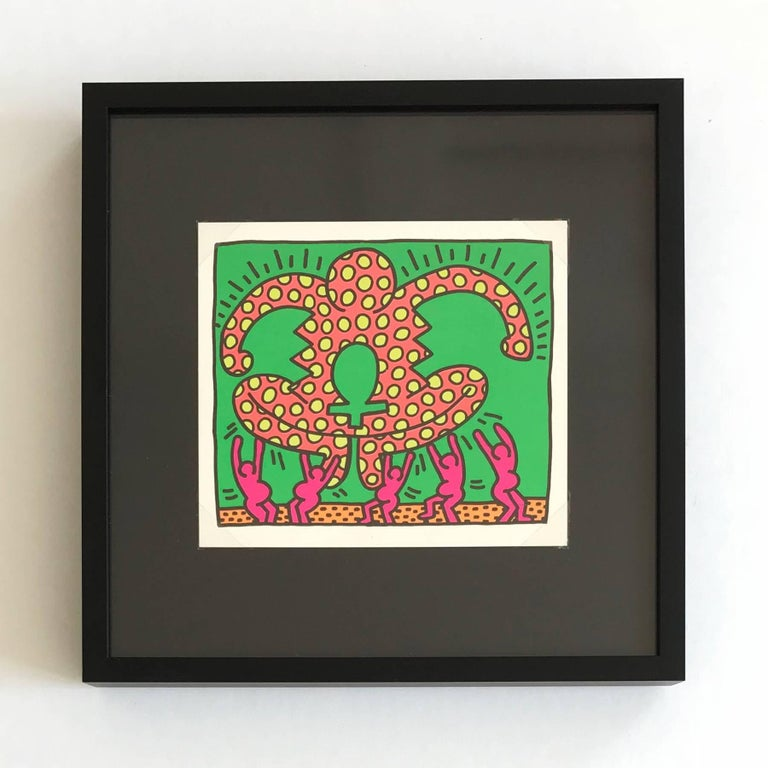 The Fertility Suite (Shafrazi Gallery Promotional Cards), Pop Art, Street Art For Sale 1