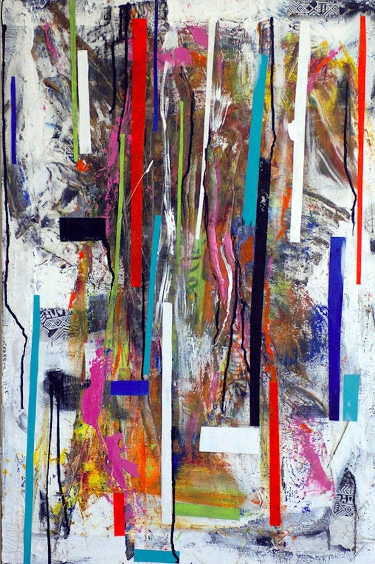 Mardi de Veuve Alexis Abstract Painting - Rain Forest