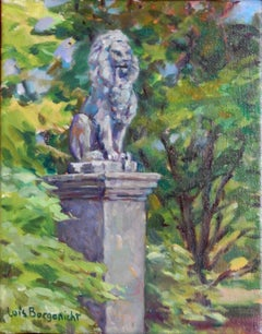 Lion at Cylburn