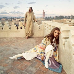 Patrick Lichfield - Paul & Talitha Getty in Marrakech