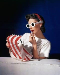 Muriel Maxwell, by Sally Victor, Bag by Paul Flato, sunglasses by Lugene, 1939