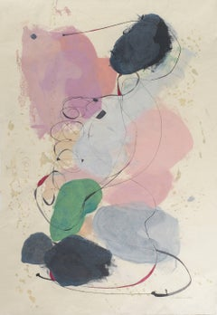 """ - Abstract Painting on PaperTracey Adams ""Guna AA"