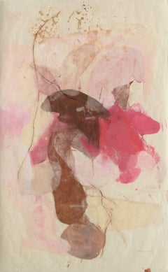 """Tracey Adams """"Guna J"""" - Abstract Painting on Paper"""
