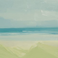 "Sara McCulloch ""Waves"" -- Coastal Beach Landscape Oil Painting"