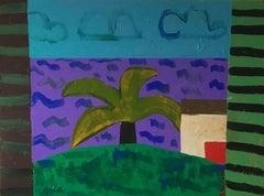 "Denise Regan ""View"" Oil Painting on Canvas"