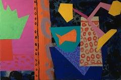 """Denise Regan """"Bubble"""" Oil Painting on Canvas"""