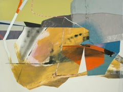 """Susan Cantrick """"Sbc197"""" -- Colorful Abstract Painting on Paper"""