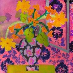 """Denise Regan """"Park View"""" Oil Painting on Canvas"""