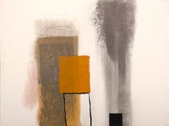"Rocio Rodriguez ""16-Oct-14"" Abstract Oil Pastel on Paper"