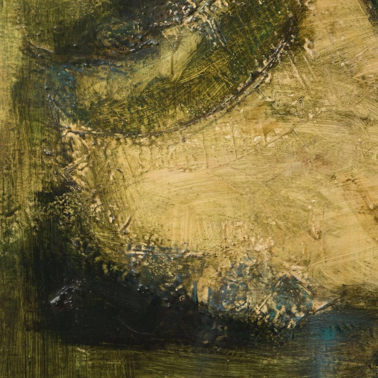 Ancient Land - Abstract Painting by Ruth Laakso