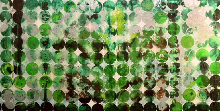 Erin Parish Abstract Painting - Diamonds for the Trees