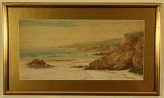 Pair of Paintings Mullion and Gunwalloe, Cornwall