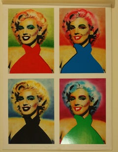 Original Artwork for Marilyn Monroe Postcards