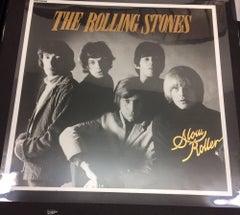 ROLLING STONES   ORIGINAL UNRELEASED PRODUCTION ARTWORK FOR ALBUM SLOW ROLLERS