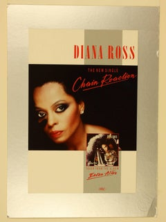 DIANA ROSS  20 x 30 Chain Reaction poster visual final version with stamp
