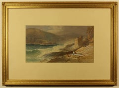 Dartmouth Castle at the entrance to Dartmouth Harbour by Thomas Hart