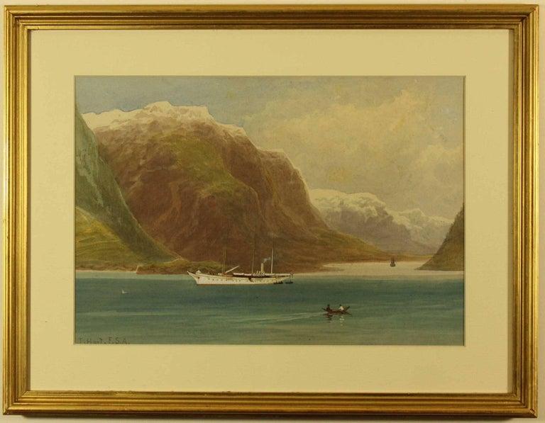 The White Ladye at Odda Norway by Thomas Hart