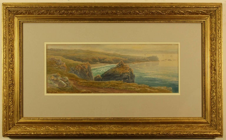 Lion Rock and The Lizard Point from Holestrow by Sydney E Hart