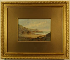 Crane Ledges and Lizard Point from Pentreath Beach' by Claude Montague Hart