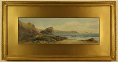 Lion Rock and the Lizard Point from Kynance Cove by Claude Montague Hart