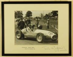 Baron Emmanuel 'Toulo' de Graffenried British Grand Prix 1953