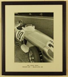 Juan Manuel Fangio 1955 Belgian Grand Prix Mercedes W196