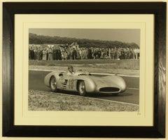 Juan Manuel Fangio, Mercedes Benz W196, French Grand Prix, Rheime, 1954