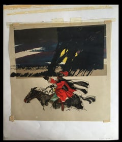 Beggars Opera The Original Painted Artwork for the 1981 Album Cover