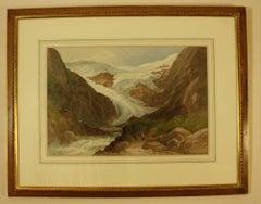 Buer Brac Glacier near Odda, Norway