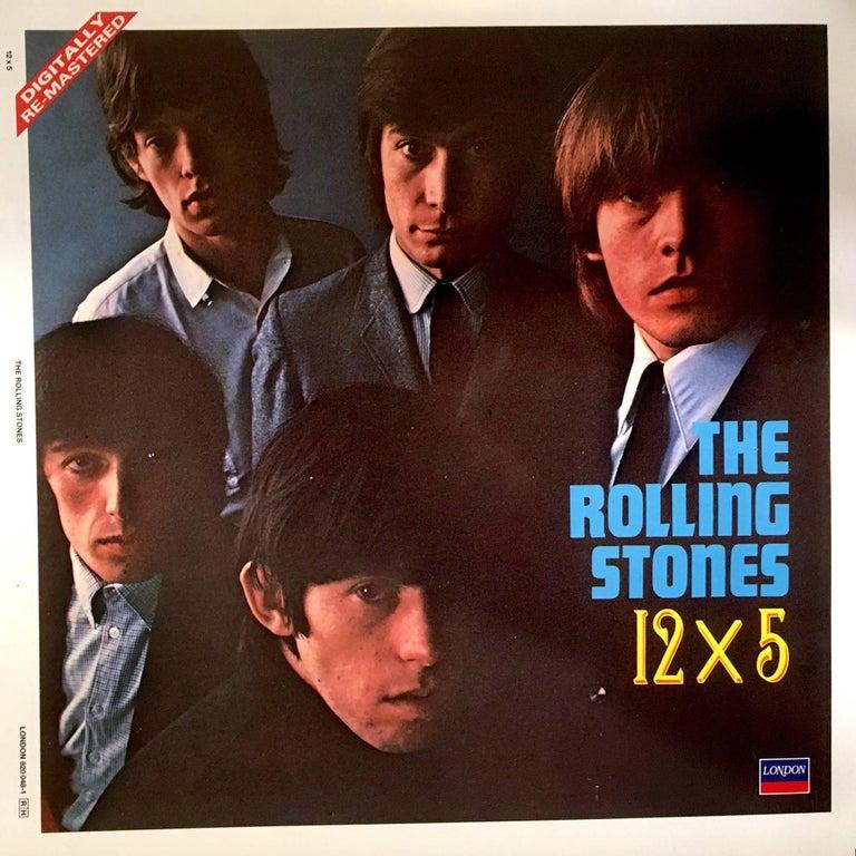ROLLING STONES 12x5 Album Extremely Rare Cromalin Proof Artwork 1984