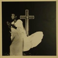 ARETHA FRANKLIN Original Artwork for Oh Happy Day 12 ins Single Cover