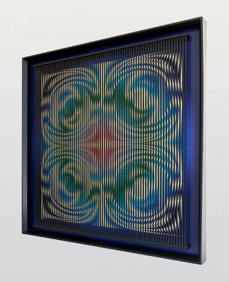 Dinamiche Cangianti - Other Art Style Painting by Alberto Biasi