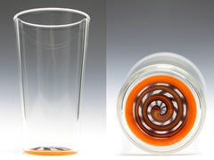Red & Orange Staircase Pint Glass