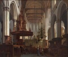 In the Nieuwe Kerk, Amsterdam