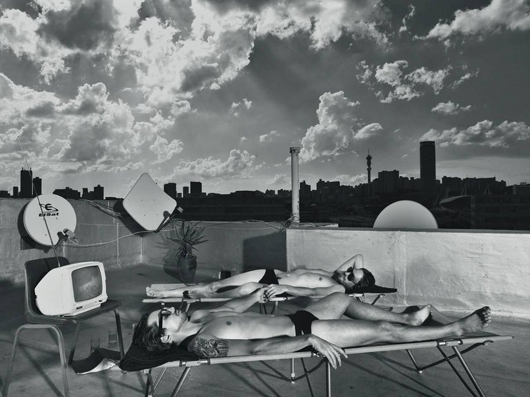 Contemporary Photography: Boys On The Roof