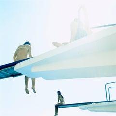 Untitled #07, Cascais, 2002 (Photograph, Print, Sunshine, Swimming, Children)