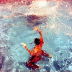 Poolscape #57, 2010 - Photograph, Print, Swimming, Water, Summer, Karine Laval