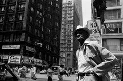 African American Man on Street