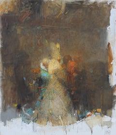 #7 VACHAGAN NARAZYAN, Trinity, 37-1/2in x 43in, oil on canvas