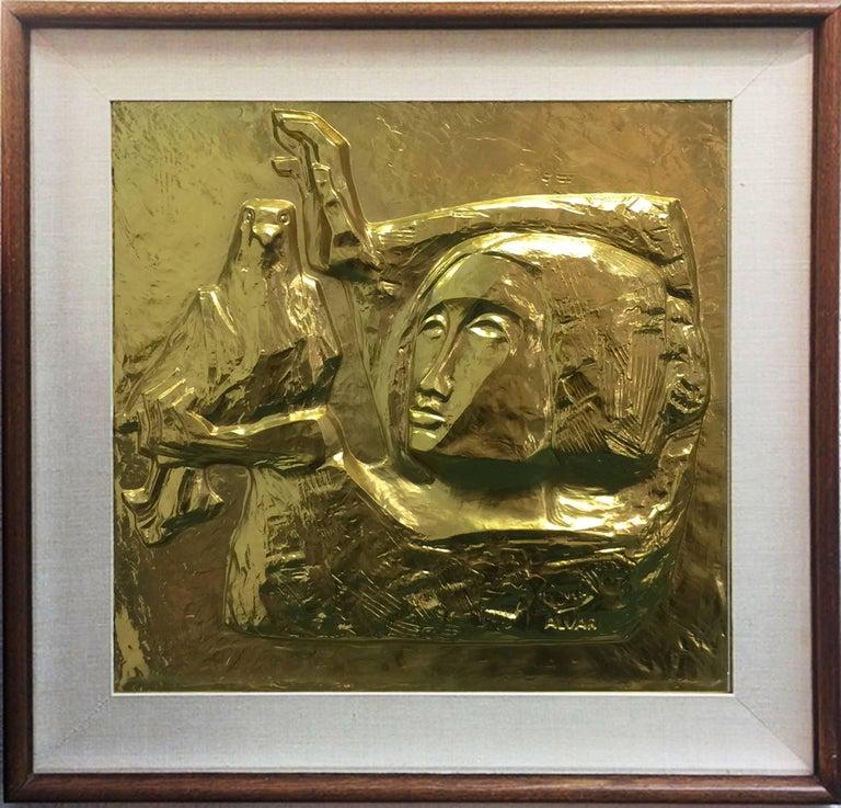Alvar Sunol Munoz-Ramos Figurative Print - LA PALOMA (THE DOVE)