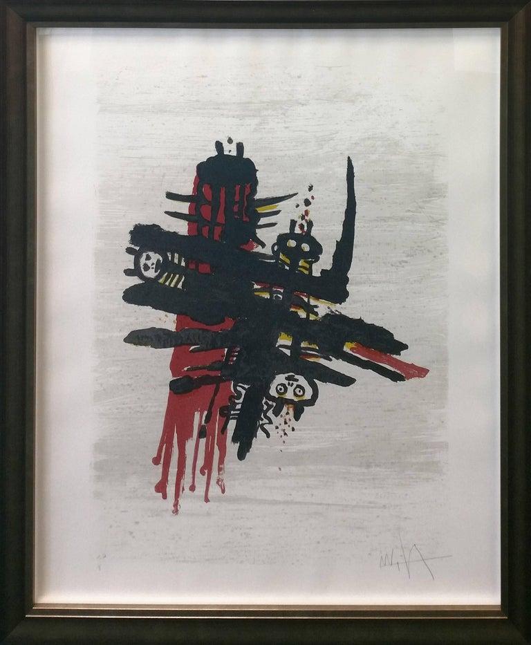 Wifredo Lam Abstract Print - ORSA MAGGIORE #7506
