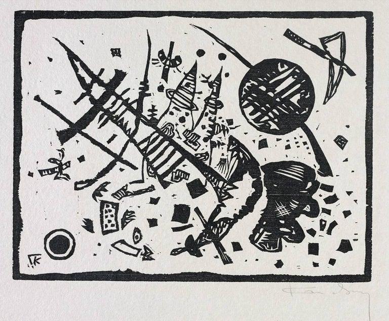 Wassily Kandinsky Figurative Print - Holzschnitt für die Ganymed-Mappe (from Der Dritten Ganymed-Mappe)