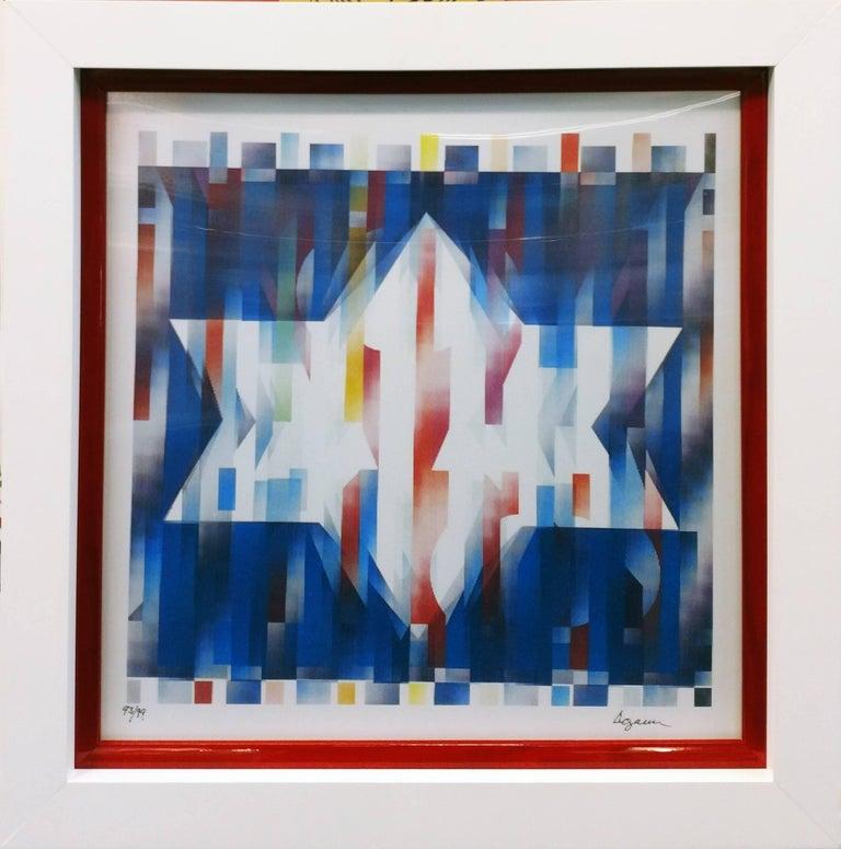 Agam Yaacov  Abstract Print - STAR OF HOPE