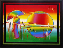 RAINBOW UMBRELLA MAN IN REEDS VER. IV #7
