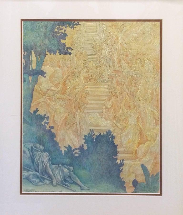 Guillaume Azoulay Figurative Print - LA REVE D. DORE (THE DREAM OF GOLD)