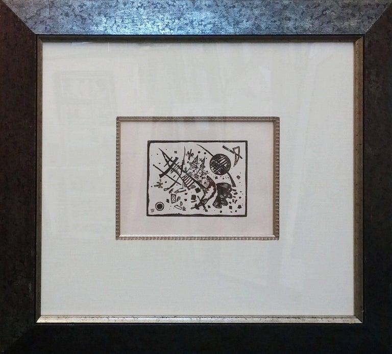 Holzschnitt für die Ganymed-Mappe (from Der Dritten Ganymed-Mappe) - Print by Wassily Kandinsky